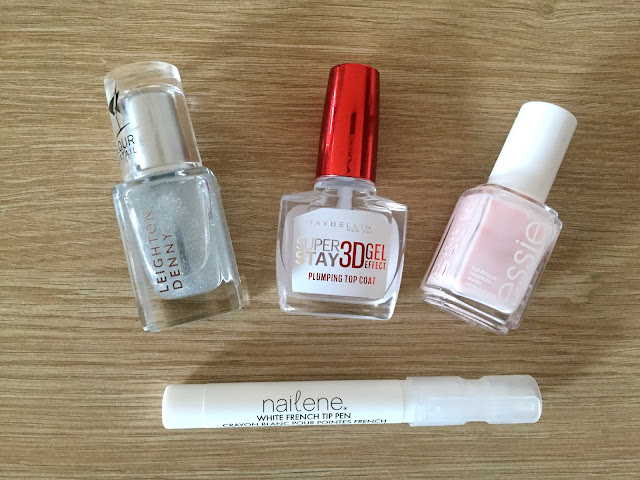 An Easy DIY French Manicure
