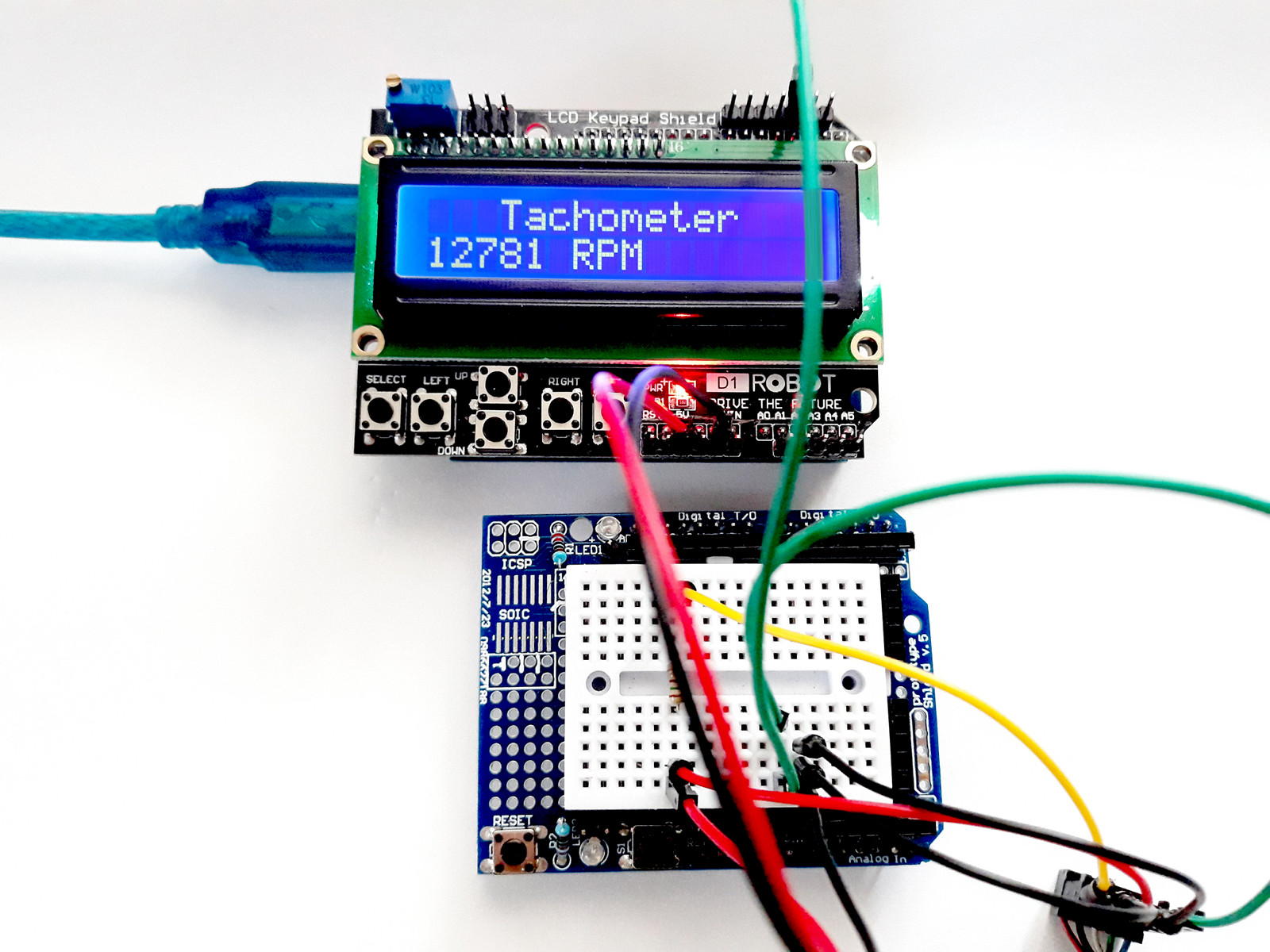 Measure Rpm With Slotted Optical Switch One Transistor Simple Arduino Tachometer
