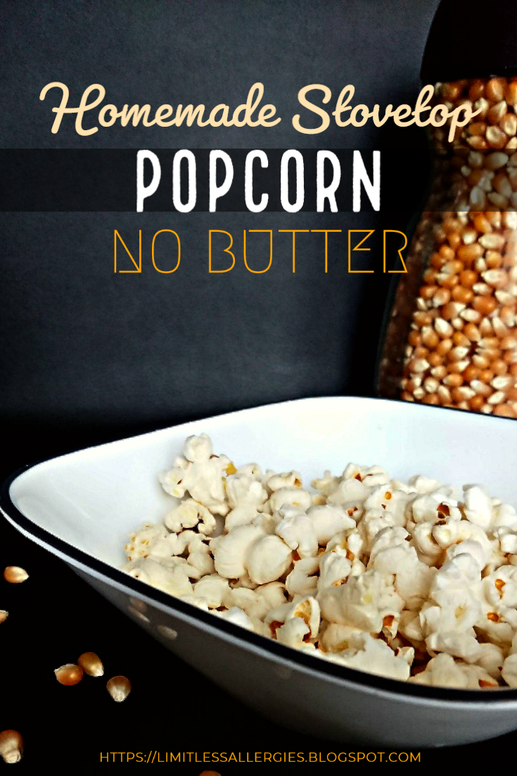 Pin for 3 ingredient stove top popcorn
