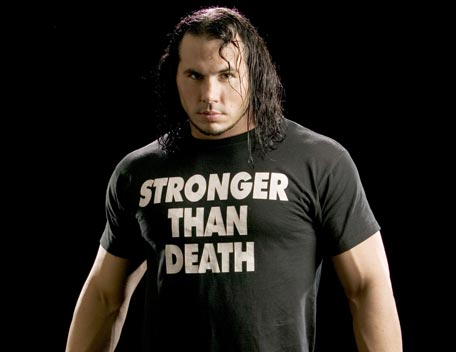 STRONGER THAN DEATH T-shirt as worn by Matt Hardy. PYGOD.COM