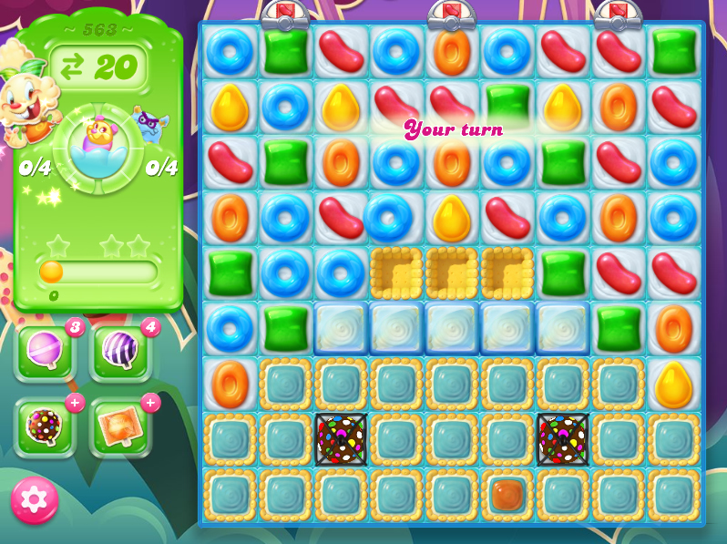Candy Crush Jelly Saga level 563