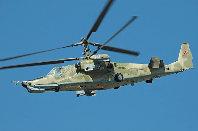 "Gambar Helikopter Kamov Ka-50 ""Black Shark"""