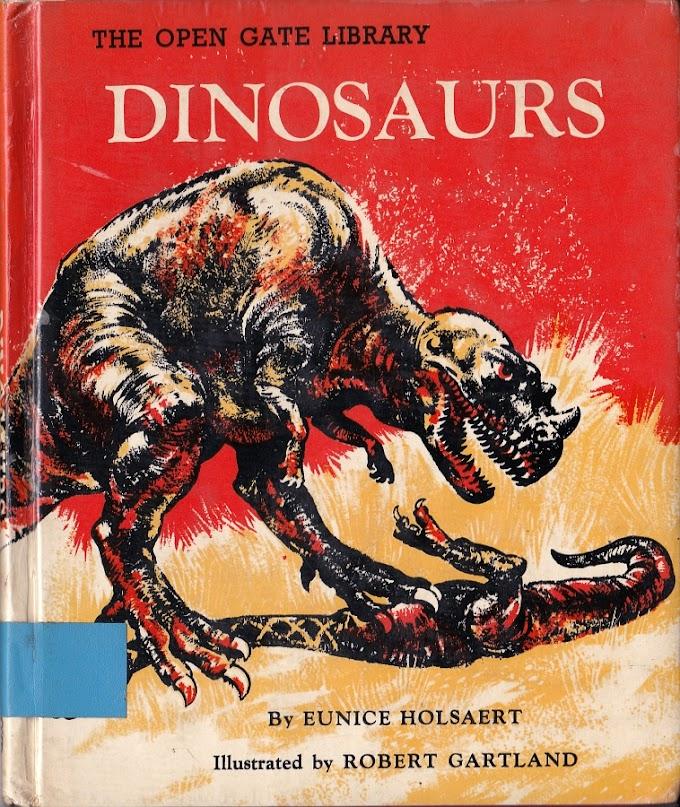 Vintage Dinosaur Art: Dinosaurs (The Open Gate Library)