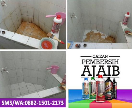 Cairan pembersih keramik kamar mandi