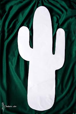 forma do wykrojenia kaktusa