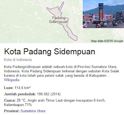 Nomor telepon Indovision Padang Sidempuan