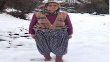 Anamur'un Yüksek Kesimlerine Kar Yağdı