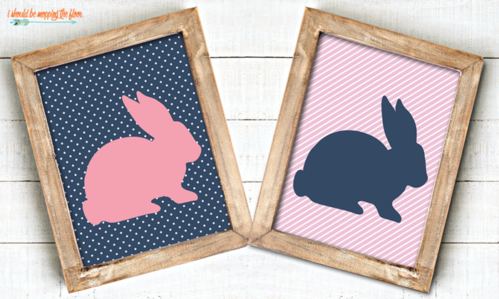 Two Easter Bunny Printables