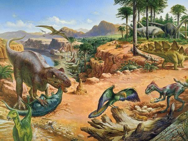 Período Jurássico (208 milhões de anos)