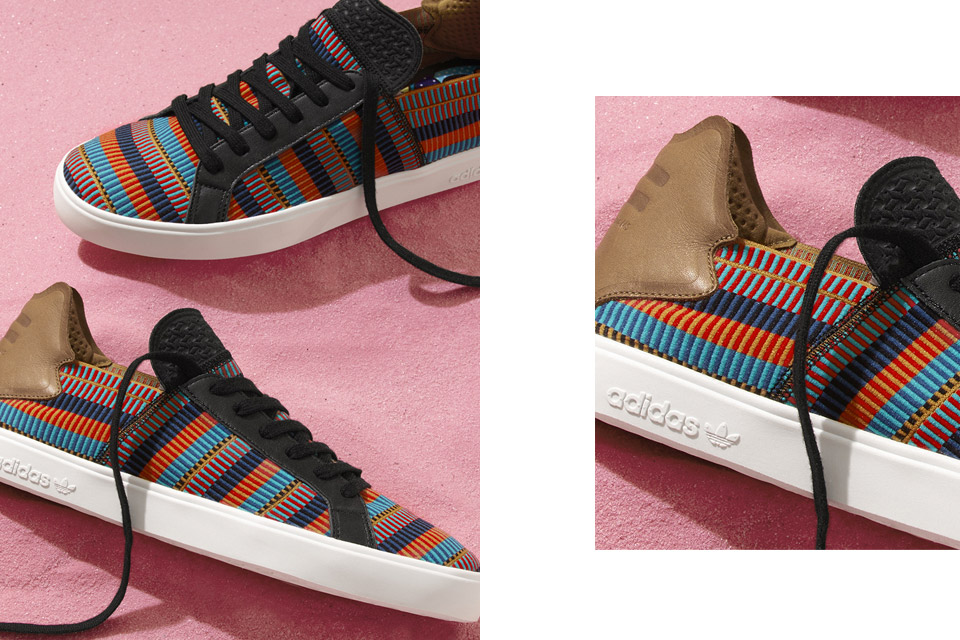 "The adidas Originals   PHARRELL WILLIAMS ""Pink Beach"" collection drops at  all adidas Originals and Billionaire Boys Club flagship stores 876bdb084af7"