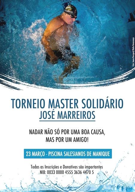 Piscinas dos Salesianos de Manique vão acolher Torneio Master José Marreiros por uma causa solidária