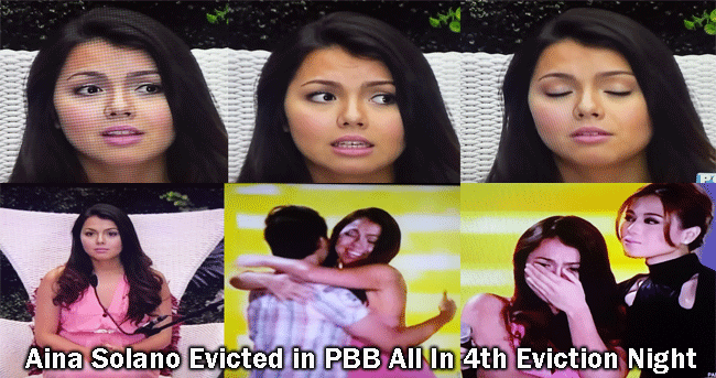 Aina Solano Evicted in PBB All In 4th Eviction Night