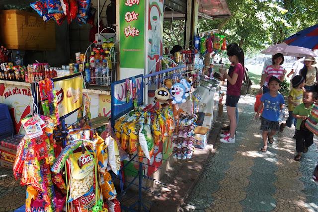 hanoi-zoo-shop ハノイ動物園の売店