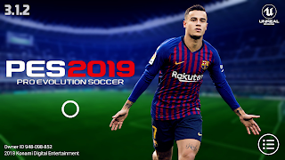 PES 2019 Mobile v3.1.2 New Graphics,Kits Patch Android Best Graphics