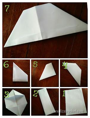 Cara membuat topeng muka kertas