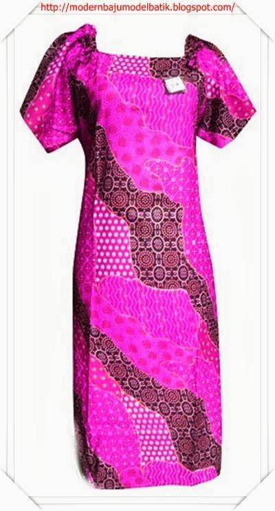 [Modern dan Terbaru] Model baju gamis batik banyak warna
