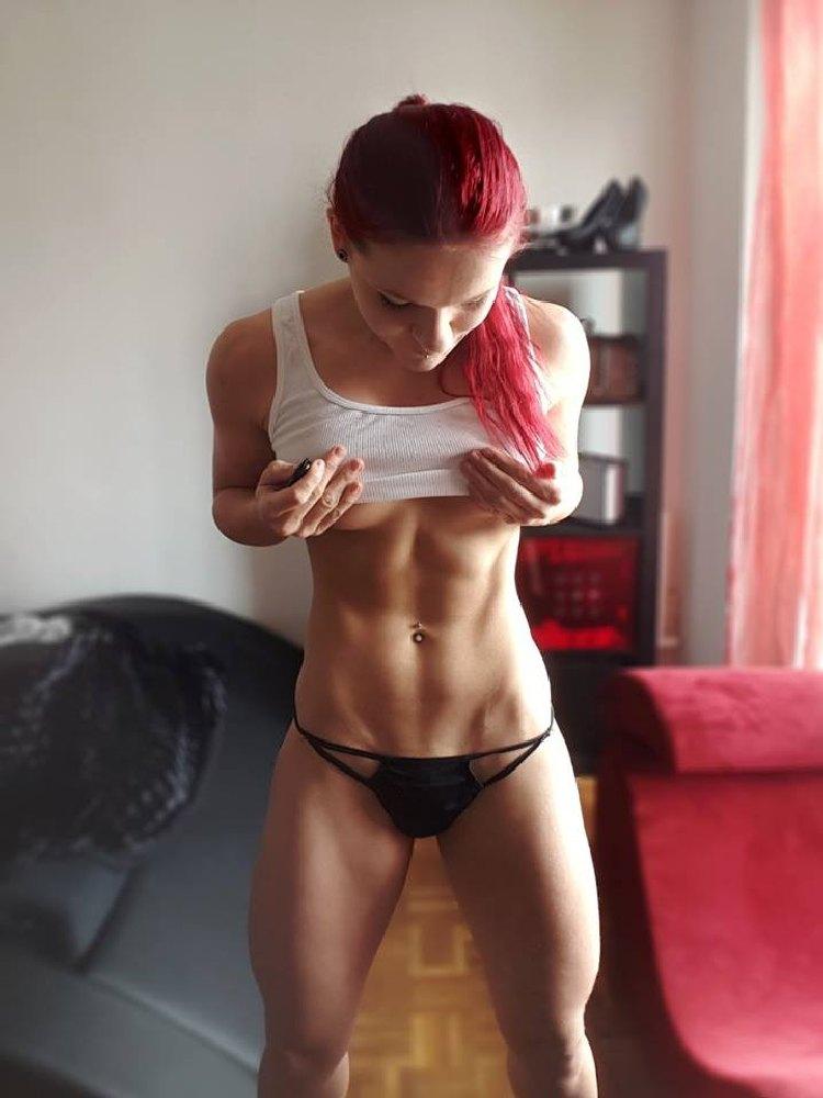 Stefanie Macherhammer Austrian redhead fitness