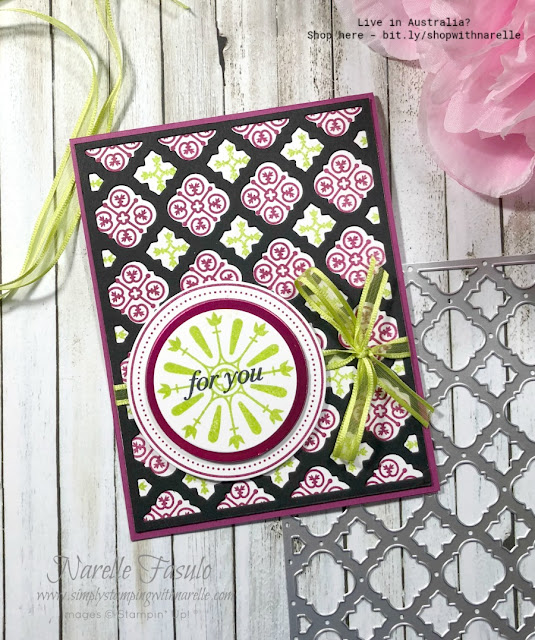 Make wonderfully detailed cards easy with the Florentine Filigree stamp set and die bundle plus the Stamparatus.