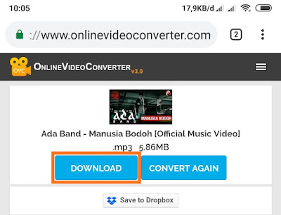 Cara Download (Lagu) Musik Format MP3 di Youtube HP dan PC