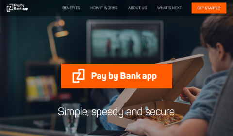 Accueil Pay by Bank App