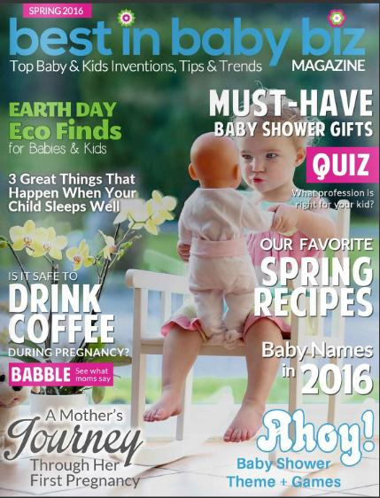 Genesis 950 is Featured in The Spring 2016 Best In Baby Biz Magazine