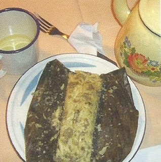 Tamal de pollo (Lojano)