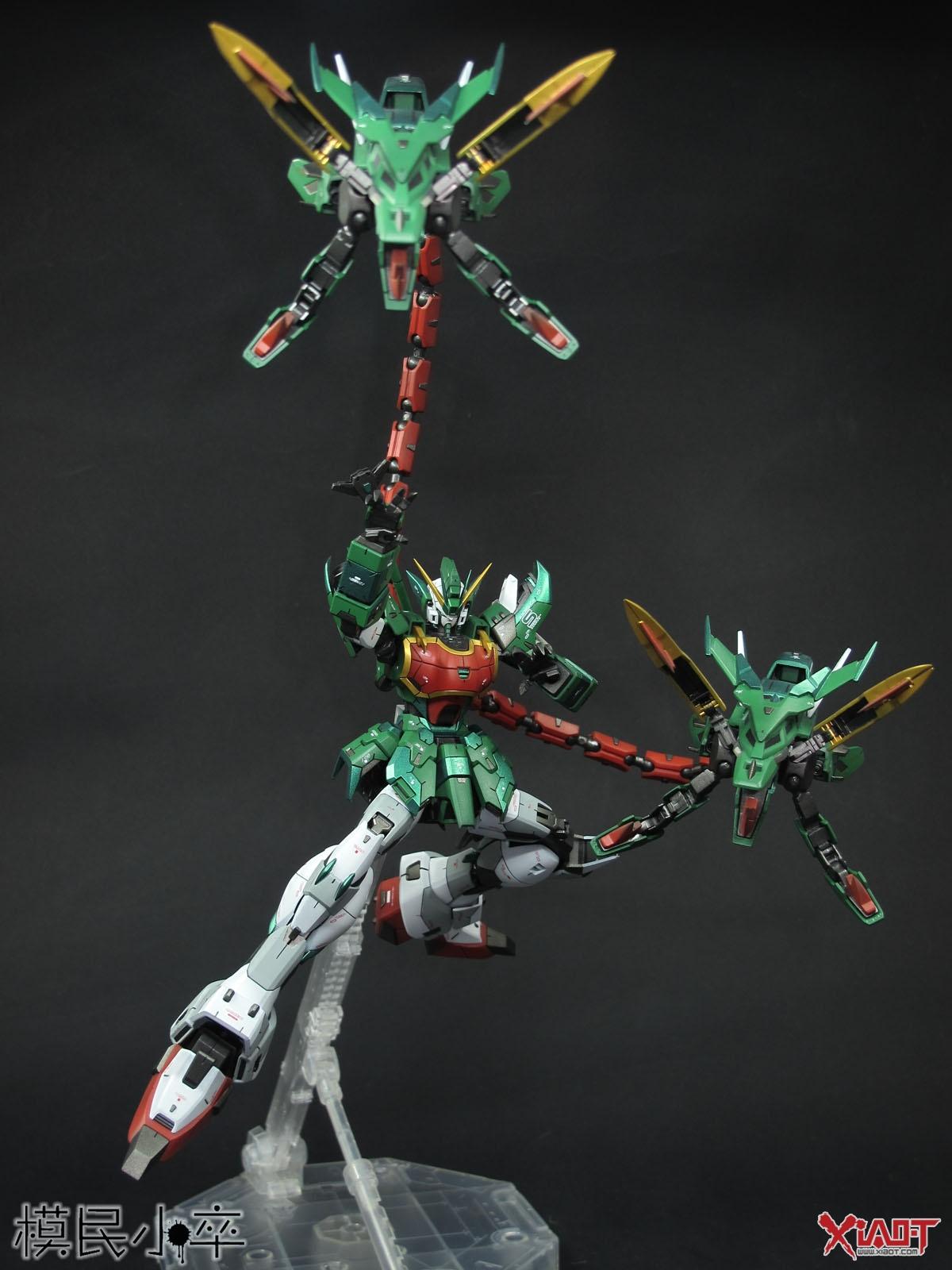 Custom Build: MG 1/100 Gundam Nataku - Gundam Kits ...