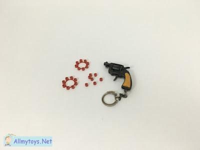 Mini revolver cap gun