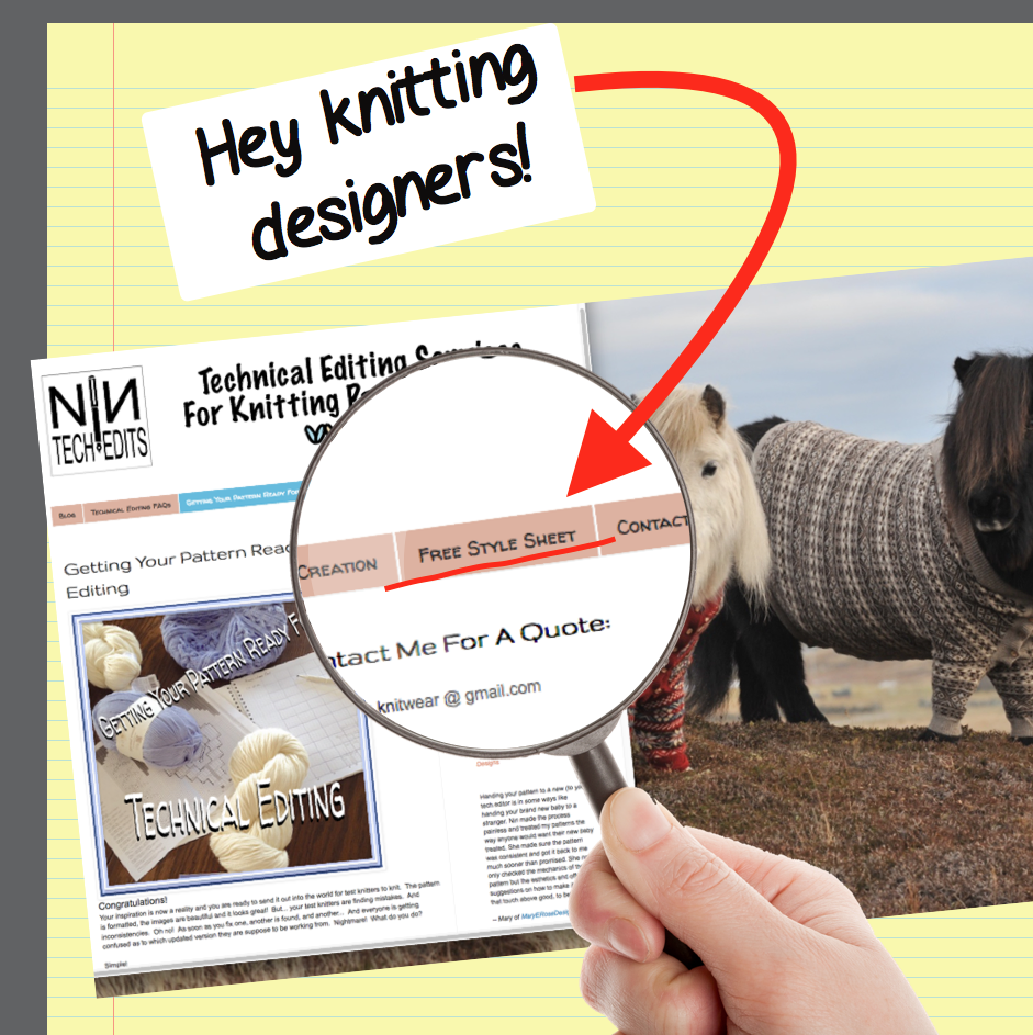 Knitting Patterns Technical Editing: Get Your Free Knitting ...
