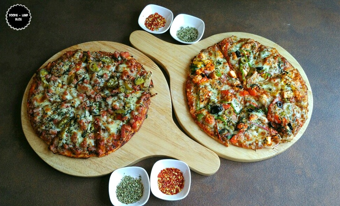 Copacabana & Peppy Paneer and Pepper Pizzas@ Churchill's Resto-Bar | JP Nagar | Bangalore