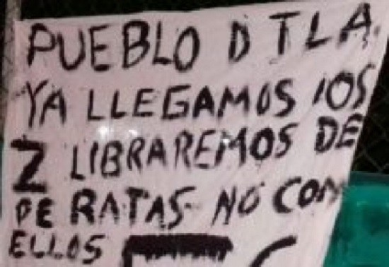 VERACRUZ ; NARCOMANTA YA LLEGAMOS LOS ZETAS LIBRAREMOS DE RATAS NO COMO LA FUERZA CIVIL