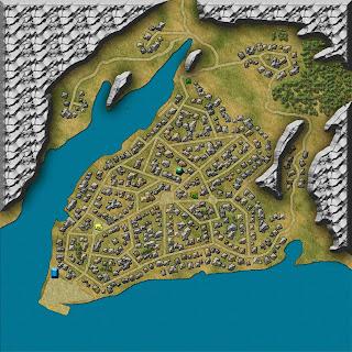 Mapas rol - Ciudad - Tredjehals