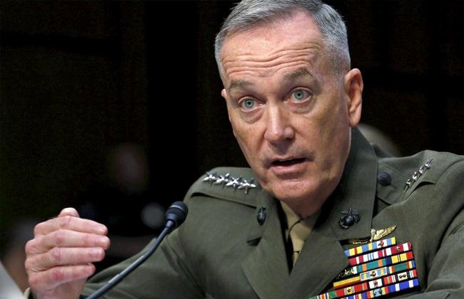 """قائد الأركان الأمريكي يعلن """"انتهاء"""" الضربات في سوريا"""