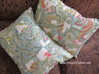 Throw Pillow Quilt Pattern