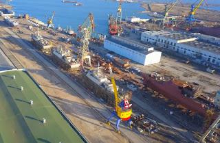 Pembangunan Tiga Korvet Kelas Karakurt Angkatan Laut Rusia