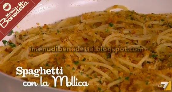 spaghetti con la mollica la ricetta di benedetta parodi