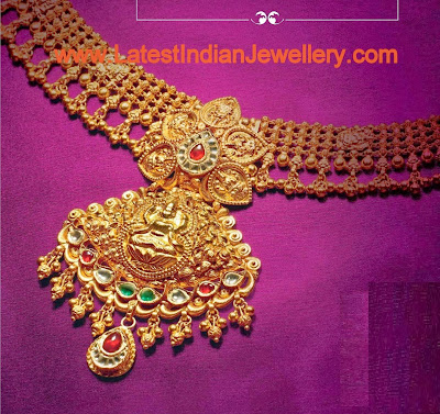 Antique Finish Temple Jewellery