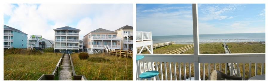 Appartement au bord de la plage