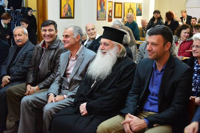 Κοντά στους ηλικιωμένους του Γηροκομείου Άργους ο Γιάννης Γκιόλας