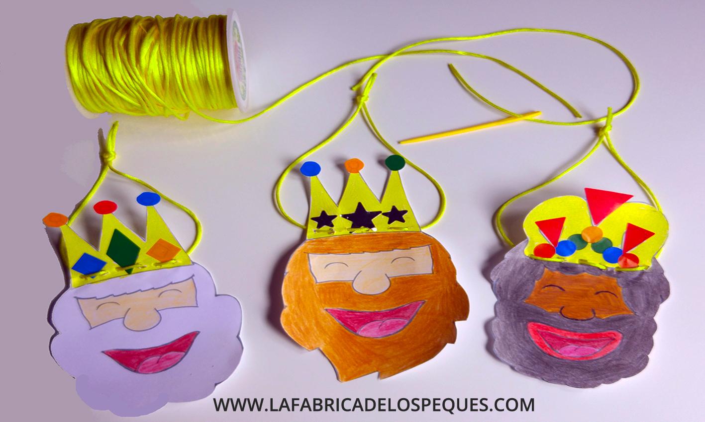Moldes de reyes magos para manualidades infantiles la f brica de los peques - Ideas para reyes ...