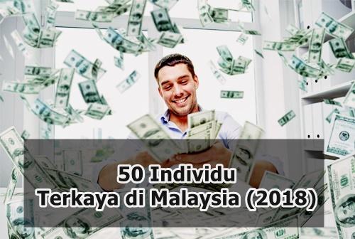 Senarai 50 Individu Terkaya di Malaysia (2018)