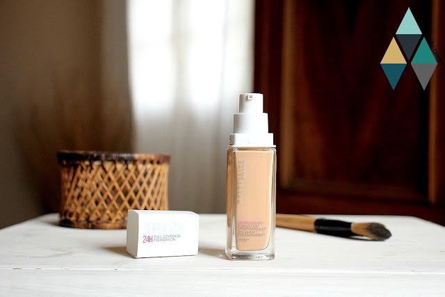 revue et test maquillage teint liquide haute couvrance 24h