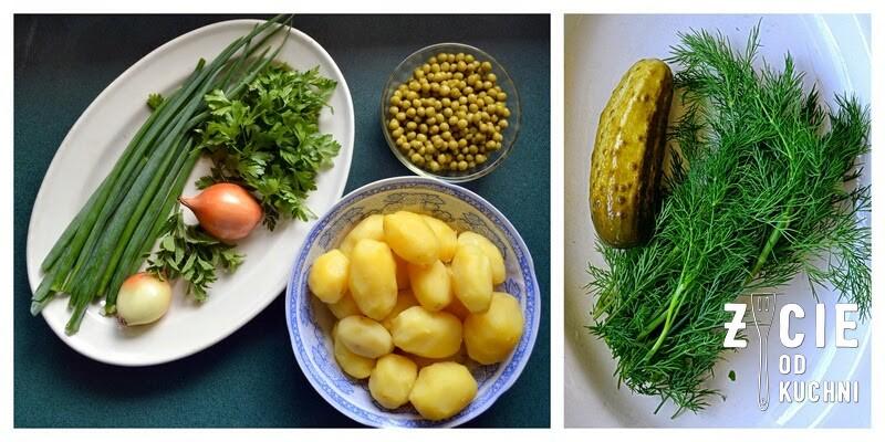 grill, grillujemy, salatka, salatka ziemniaczana, salatka do grilla, do dan z grilla dodatki do grilla, grillujemy, majowka, weekend, blog zycie od kuchni