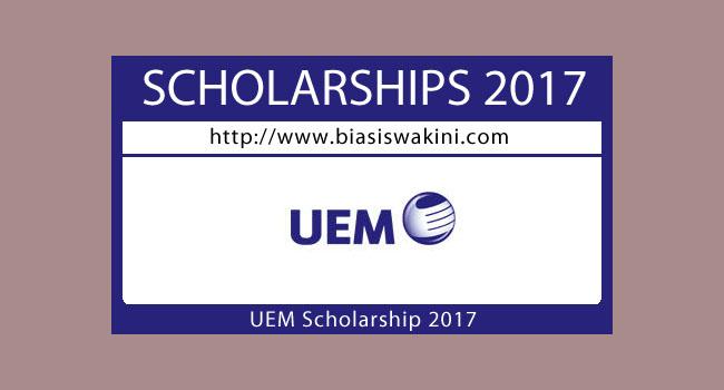 UEM Scholarship 2017