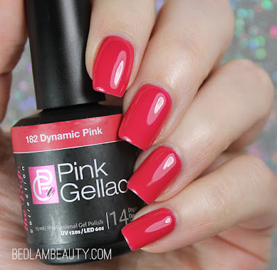 Pink Gellac Gel Manicure Starter Kit | Swatch & Review