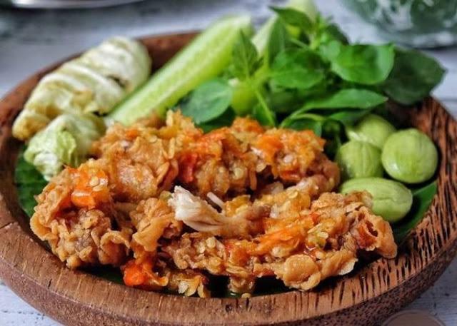 Resep Ayam Geprek Pedas