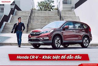 Honda CR-V - Khác biệt để dẫn đầu