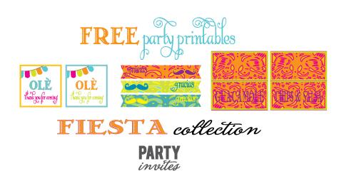 Cinco De Mayo Party Free Printables Amy S Party Ideas
