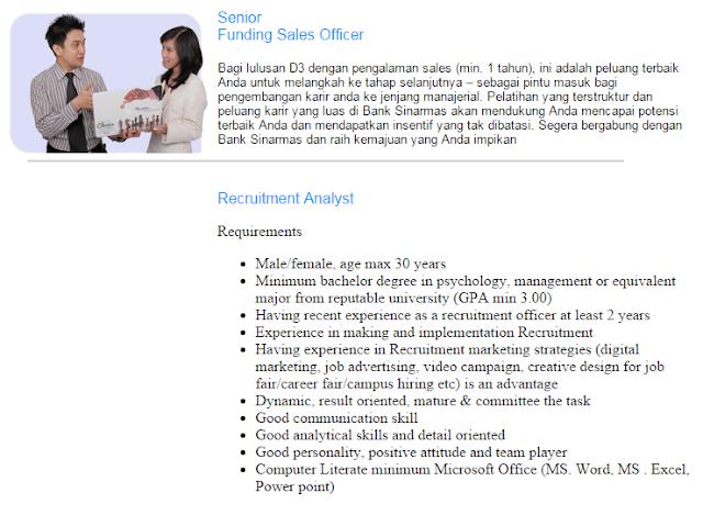 Bulan Ini  - Lowongan Kerja Bank Sinarmas Surabaya Terbaru 2020