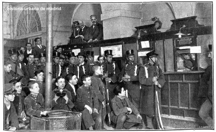 Historia urbana de madrid correos y tel grafos for Oficina central de correos madrid